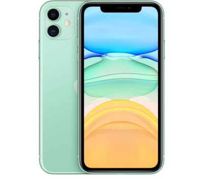 Телефон Apple iPhone 11 64Gb A2223 Dual sim (Green)