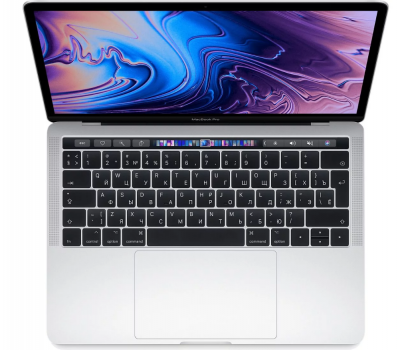 "Ноутбук Apple MacBook Pro 13"" MV992RU/A Core i5 2,4 Ггц, 8 Гб, 256 Гб SSD, Iris Plus 655, Touch Bar (Серебристый)"