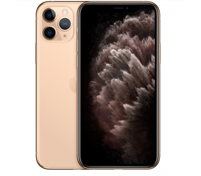 Телефон Apple iPhone 11 Pro Max 256Gb A2218 (Золотой) RU/A