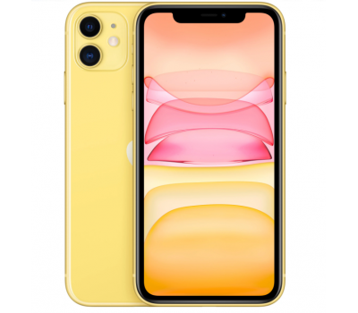 Телефон Apple iPhone 11 128Gb (Yellow)
