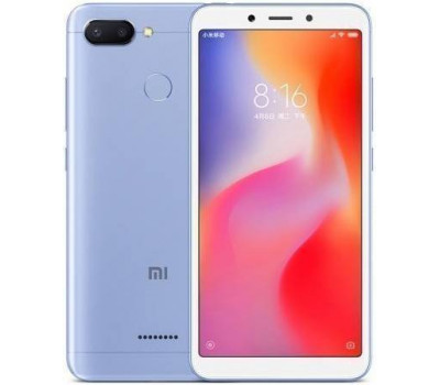 Телефон Xiaomi Redmi 6 3Gb+64Gb (Голубой) Global Version