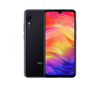 Купить телефон Xiaomi Redmi Note 7 4Gb+128Gb (Черный) Global Version