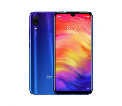 Купить телефон Xiaomi Redmi Note 7 4Gb+64Gb (Синий) Global Version
