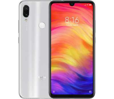 Купить телефон Xiaomi Redmi Note 7 4Gb+64Gb (Белый) Global Version Moonlight White