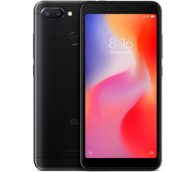 Телефон Xiaomi Redmi 6 3Gb+32Gb (Черный) Global Version